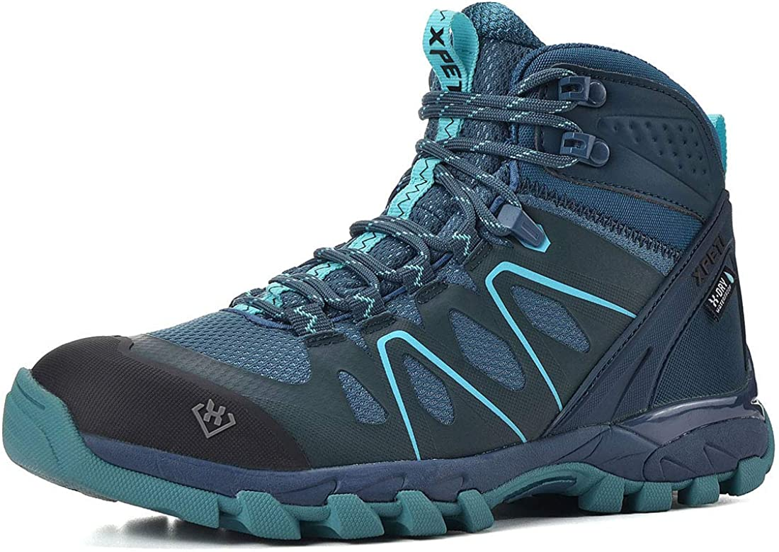 Indefinitely XPETI Women's Wildfire Soldering Mid Hiking Light Boot