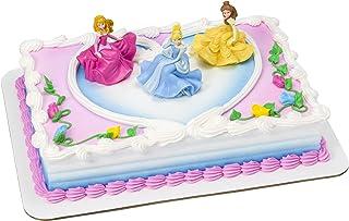 مجموعة تزيين الكعكة ونس ابون ا مومنت ديكوسيت بنمط أميرات ديزني من ديكوباك