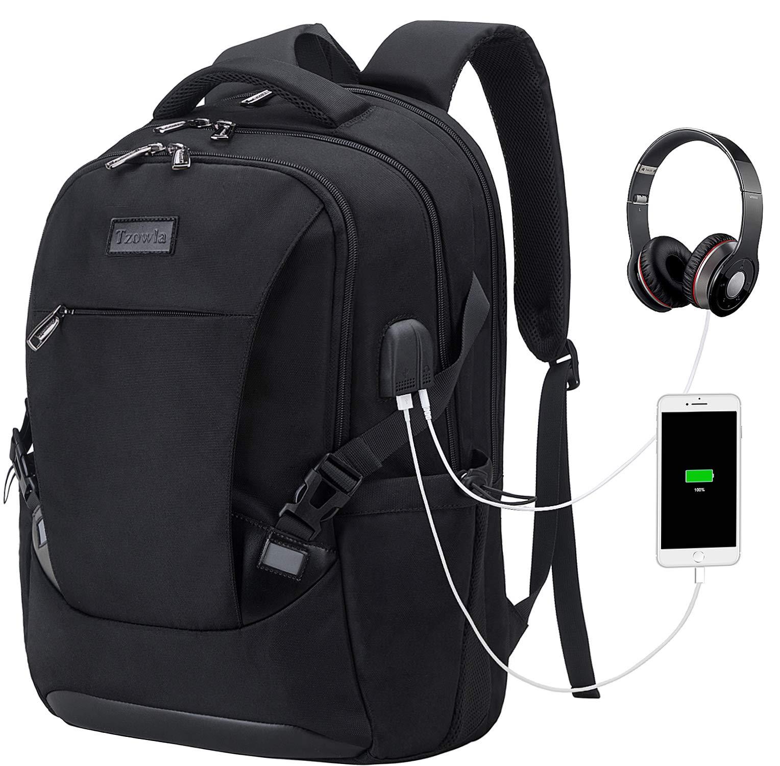 Tzowla Backpack Waterproof Business Headphone