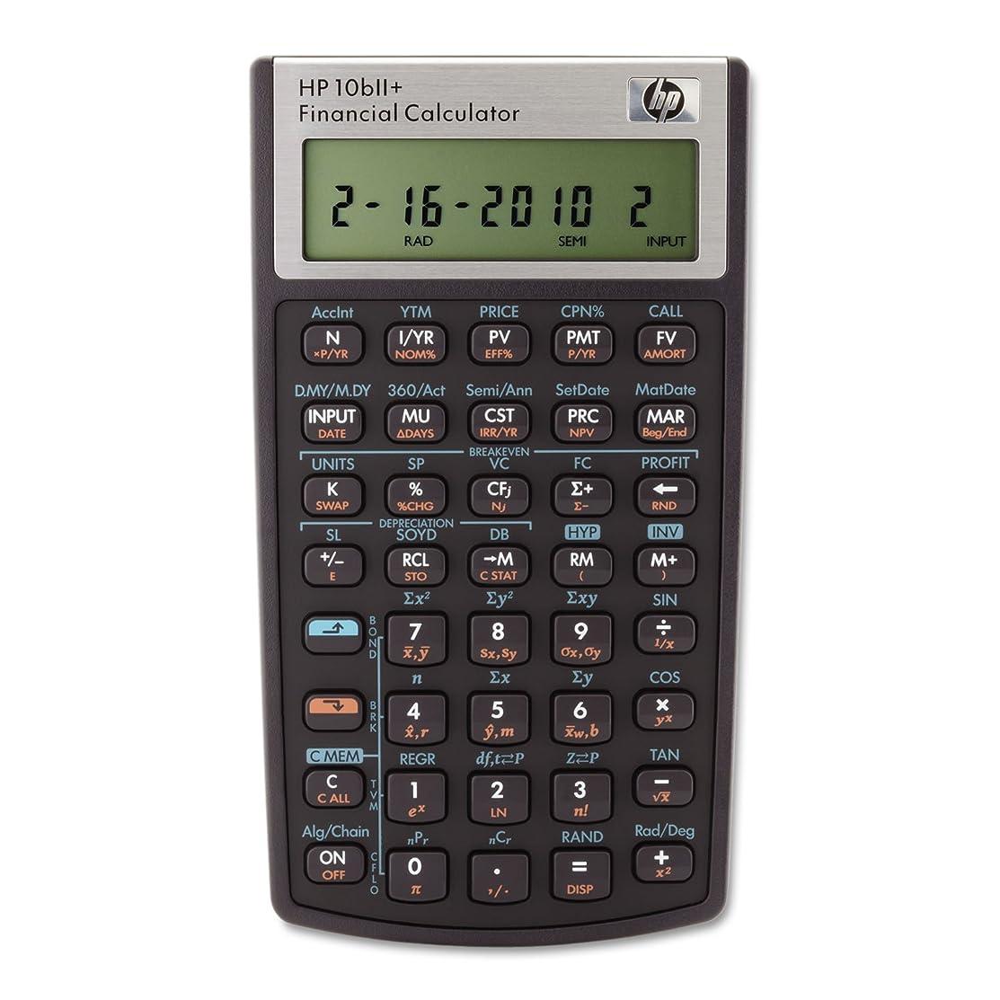 ケイ素見る制約HP 10bii +金融電卓