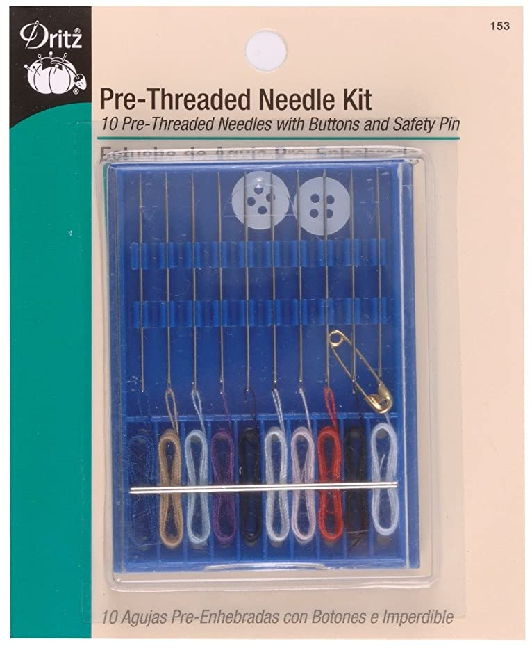Dritz 153 Pre-Threaded Needle Kit