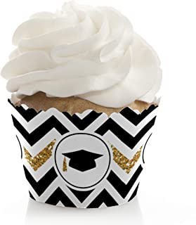 Gold Tassel Worth The Hassle - Graduation Party Decorations - Party Cupcake Wrappers - Set of 12