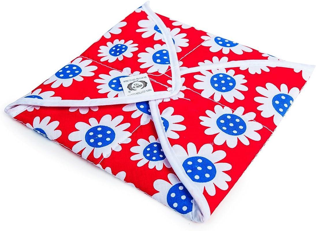 Roti Tortilla Breads Covering Cloth Square Shape Cotton Cloth Cotton Wrapping Cover