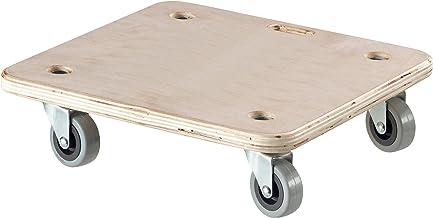 Dörner & Helmer transportroller Stabil Soft-Mini (rolplank, transporthulp, draagkracht max. 200 kg, 4 rubberen wielen 50 m...