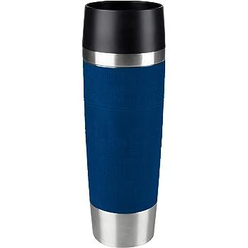 1 x 500 ml 1er pack Thermobecher blau Emsa 515618 Travel Mug Standard-Design Grande
