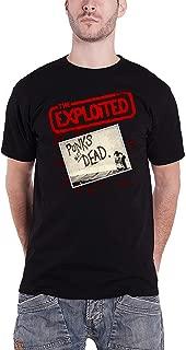 T Shirt Punks Not Dead Band Logo Official Mens Black