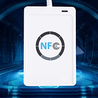 NFC Smart Reader/Writer USB ACR122U ISO 14443A / B + Free Software + 5 IC Cards, White