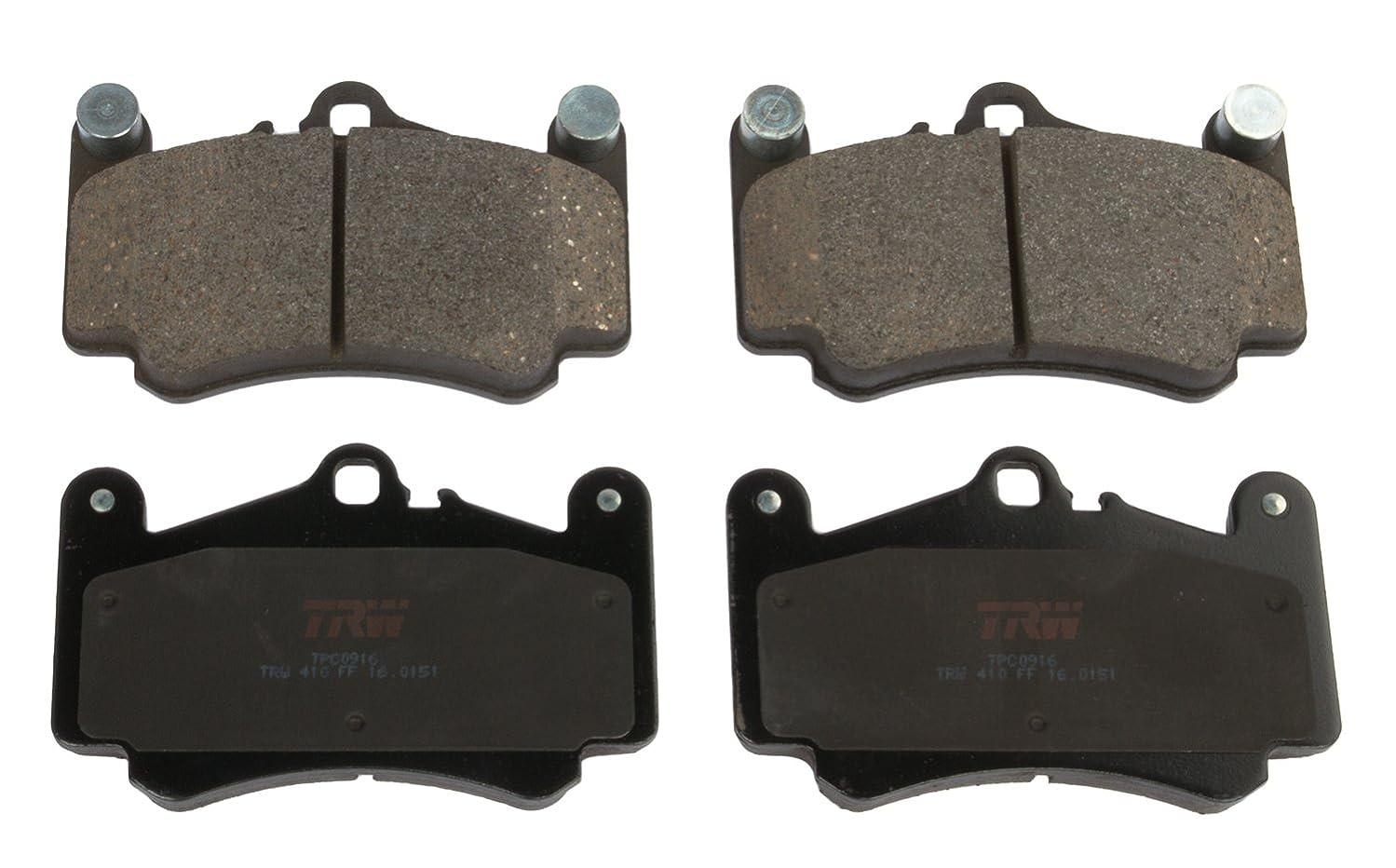 TRW Black TPC0916 Premium Ceramic Front Disc Brake Pad Set