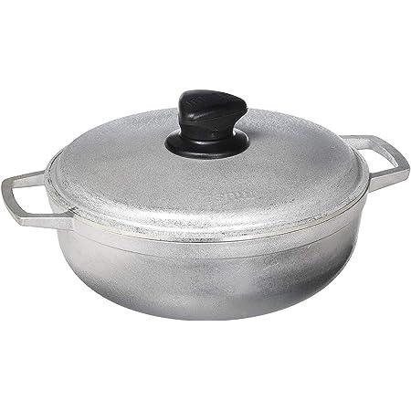 IMUSA GAU-80560 - Mini caldero tradicional colombiano (horno para cocinar y servir) 2.6 Quart plata