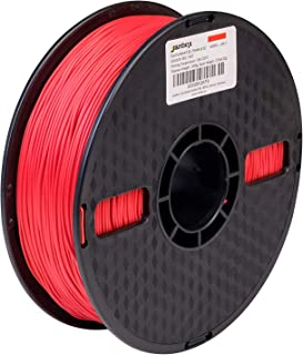 janbex Pla Filament 1,75mm 1kg Rouleau pour imprimante 3D ou stylo dans emballage sous vide, Rot, 1