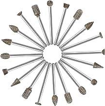 Lime /à tron/çonner tron/çonneuse Fraise 3mm Lime t/ête rotative 5mm Diamant pour Dremel 5pcs