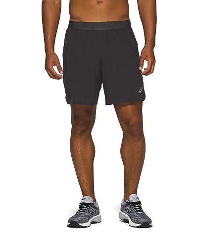 ASICS Road 2-in-1 7 Shorts (Graphite Grey) Men
