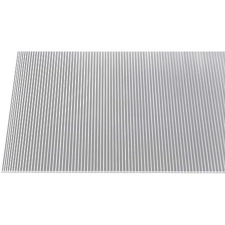 Polycarbonat Stegplatte Doppelstegplatte 10 mm 150 x 65 cm Extaum Polycarbonatplatten 2 STK