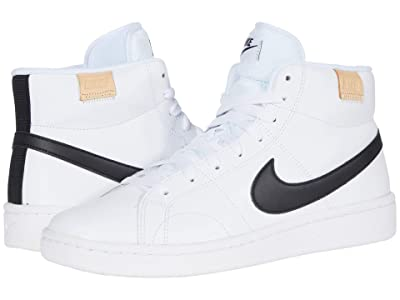 Nike Court Royale 2 Mid (White/Black) Men