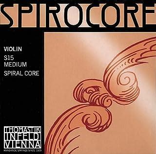 Thomastik Infeld Spirocore 4/4 Violin String Set - Medium Gauge with Ball End E