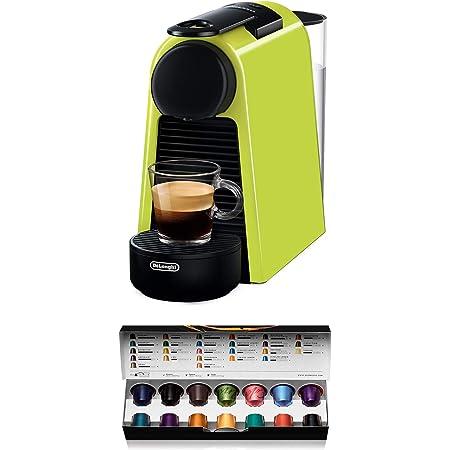 Delonghi 85.L Pod coffee machine, 1150 W, Noir, Citron vert