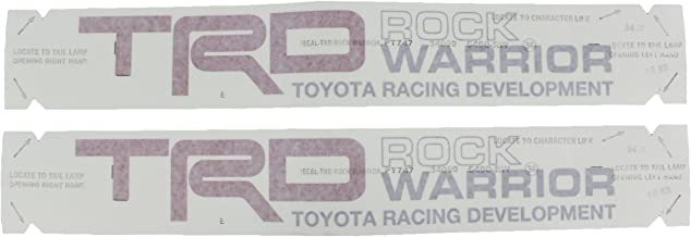 trd center cap decals