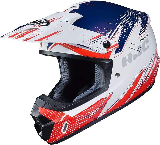 Black//Gray//White, Sm HJC Unisex-Adult Off-Road CS-MX II Offroad Helmet Krypt
