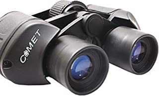 Krevia Comet 8x40 mm Powerful Prism Outdoor Binocular Telescope with Pouch (Black)