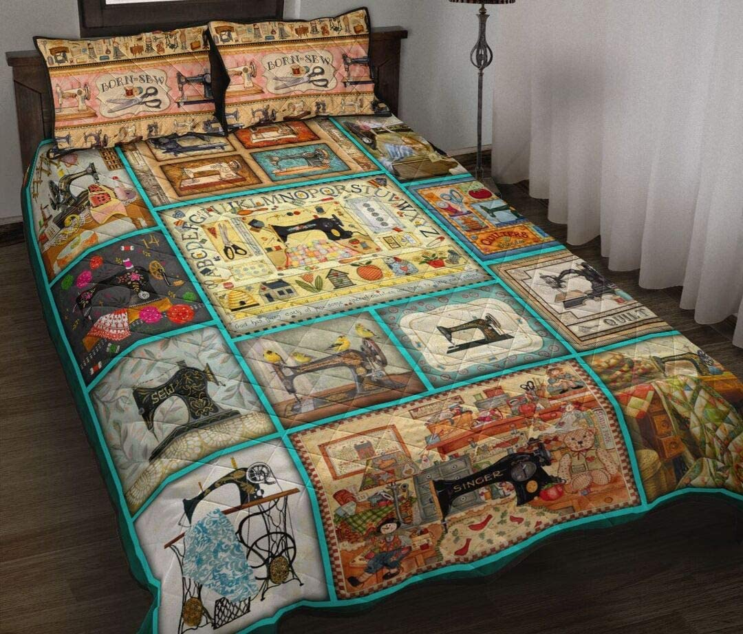 Personalized Brand Cheap Sacramento Mall Sale Venue Sewing Beautiful Quilt Set Bed to Birthda