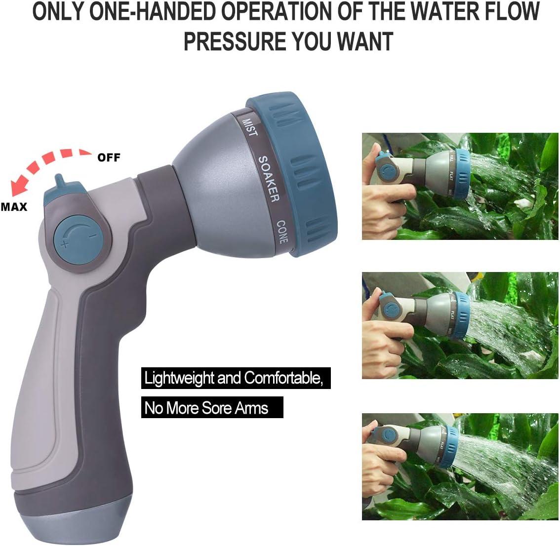 Best for Multipurpose Usage Garden Hose: EVILTO High pressure Nozzle: