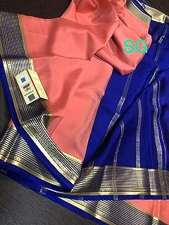 Fashion Vibes Exclusive Pure Mysore Silk Crepe Saree with KSIC Border