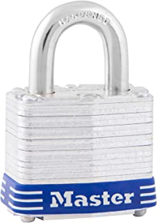 Master Lock 3D Laminated Padlock, 3/4-inch Shackle, 1-9/16-inch Wide