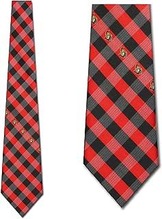 Ottawa Senators Check Poly Necktie