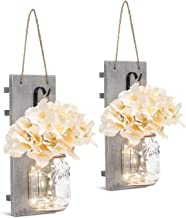 Order Happiness Home Decor Lights Hanging for Living Room, Pack of 2
