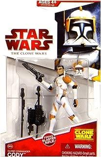 Star Wars Clone Wars Clone Commander Cody 33/4 Inch Scale Figure CW28