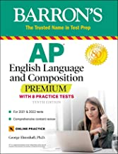 Download Book AP English Language and Composition Premium: With 8 Practice Tests (Barron's Test Prep) PDF