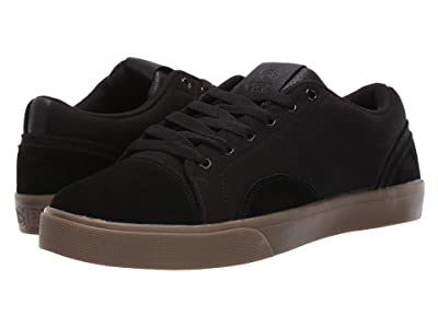 Osiris Turin (Black/Dark Gum) Men