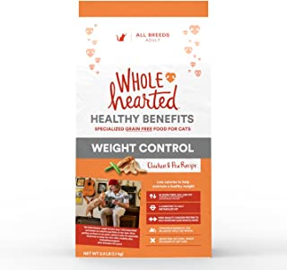 WholeHearted Weight Control Chicken and Pea Recipe Dry Cat Food