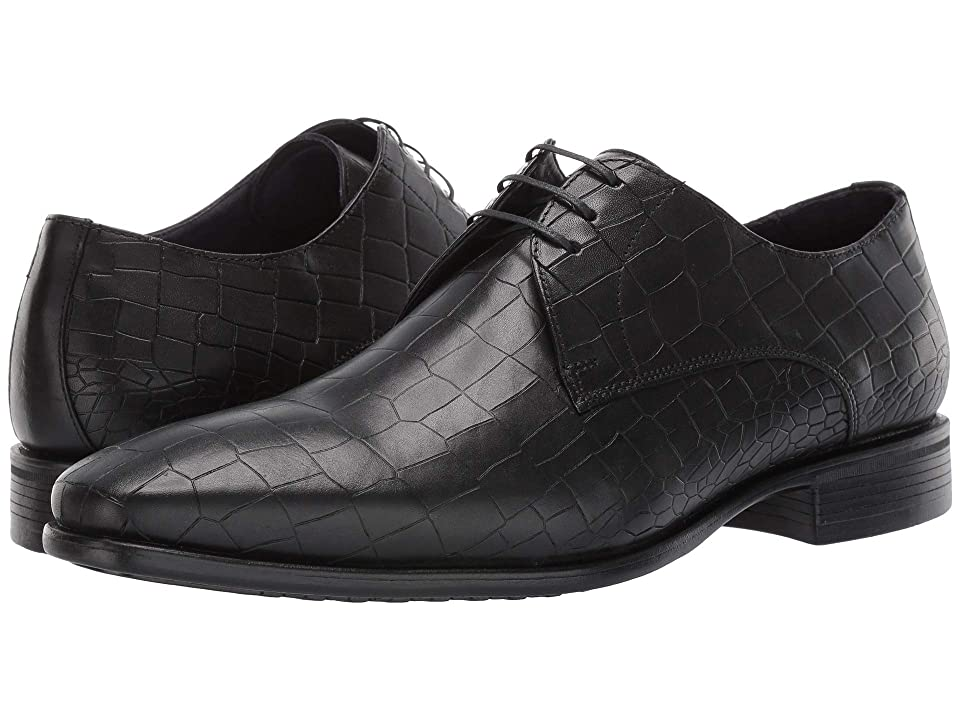 Massimo Matteo Lace-Up Croco Classic (Black) Men