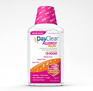 day clear allergy medicine