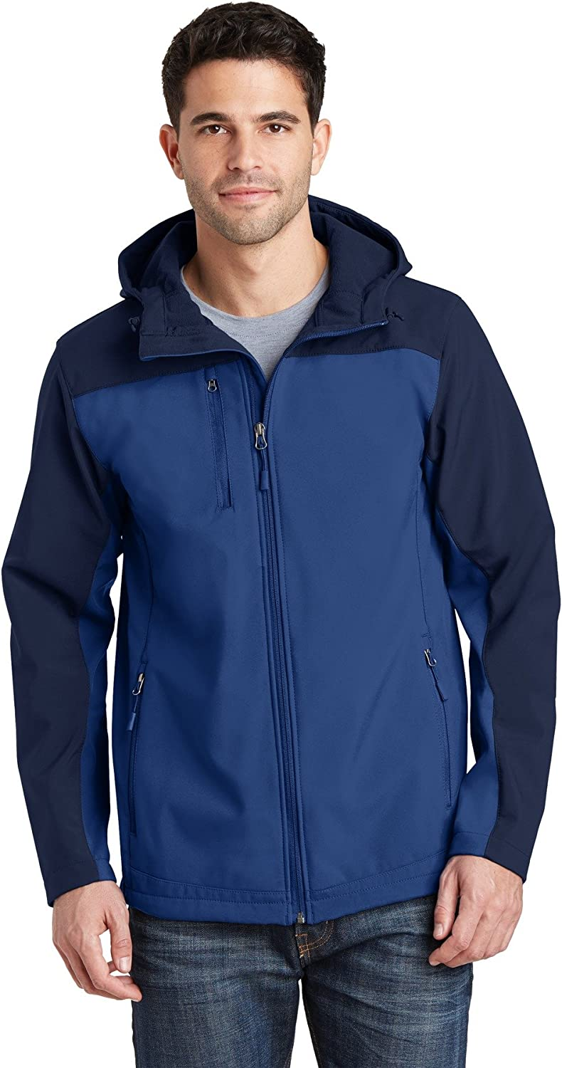 Port Authority Men's Hooded High quality new Core Jacket Soft Max 55% OFF Shell