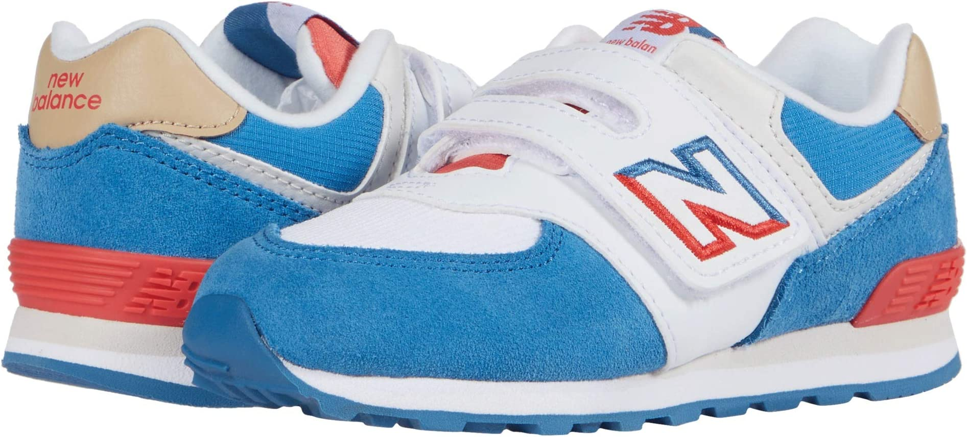 New Balance? Kids 574 Split Sail Round-Toe Sneaker