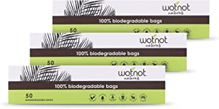 Wotnot Biodegradable Nappy Bags, 50 Count