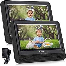 PUMPKIN Lecteur DVD Portable Double Ecrans pour Enfant 9 Pouce(1 Lecteurs et 1 Moniteur)..