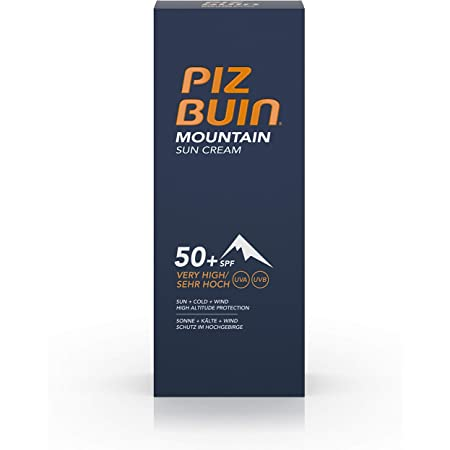 Amazon Com Piz Buin Mountian Sun Cream Spf50 1 7oz 50ml Beauty