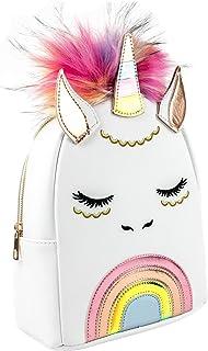 UNDERONESKY Isadora White Unicorn Backpack