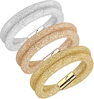 Swarovski 5184498 Stardust Deluxe Bracelet Set - Size M (40cm)