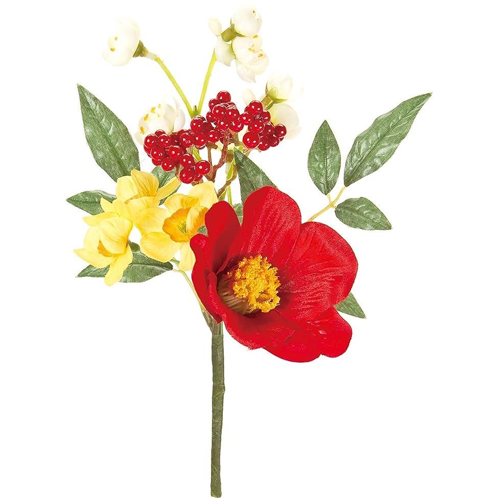批判するデクリメントトランスミッション東京堂 造花 #レッド MAGIQブランド 春宴椿ピック FJ008662