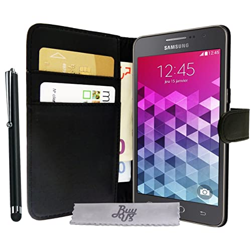 Etui Housse Luxe Portefeuille Samsung Galaxy Grand Prime \ Grand Prime Value Edition SM-G530FZ + STYLET et 3 FILM OFFERT!!