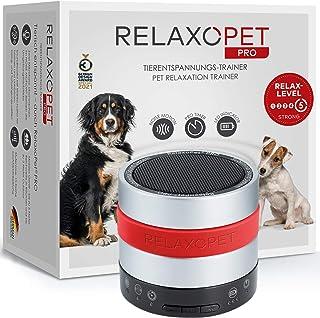 RelaxoPet PRO - dispositivo di rilassamento per cani con onde sonore ideale durante i temporali o i fuochi d'artificio, da...