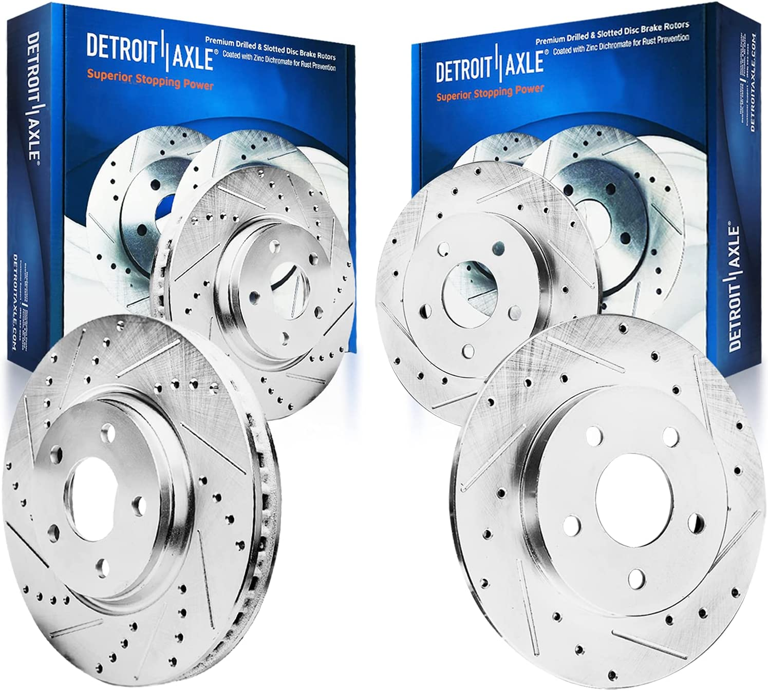 Detroit Axle - Selling rankings 305mm Front Max 75% OFF Rotors Replacement 288mm Brake Rear