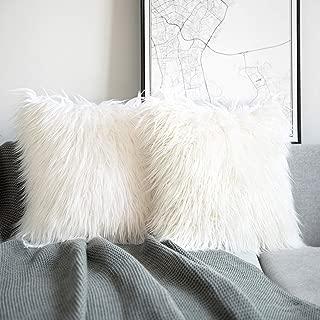 Best 26x26 faux fur pillow cover Reviews
