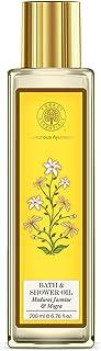 Forest Essentials Bath & Shower Oil - Madurai Jasmine & Mogra 200Ml