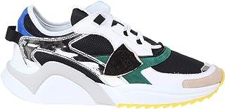 Philippe Model Luxury Fashion Mens EZLUWM06 White Sneakers   Spring Summer 20