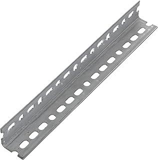 Steelworks Corporation 849-1982-1164 SteelWorks Corporation 11104/61101 Barra de ángulo ranurada de 1-1/2 x 12 pulgadas ga...